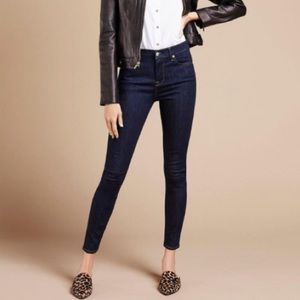 7 For All Mankind The High Waist Ankle Skinny Jean